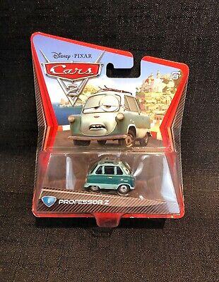 Disney Pixar Cars 2 Professor Z #6 diecast Zündapp Janus car by Mattel