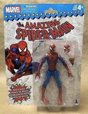 The Amazing Spider-Man Pizza Spider-Man Marvel Legends Retro Hasbro MOC