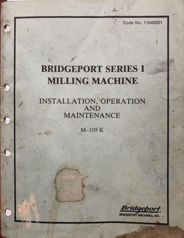 Bridgeport Operators Manual