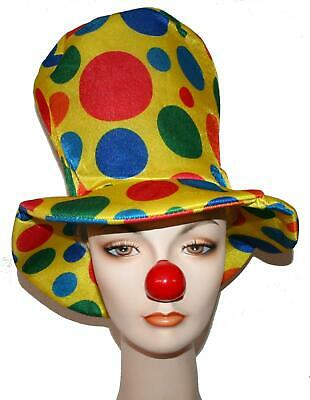 Top Hat Circus (Clown Top Hat foam novelty funny oversized jumbo circus prop costume parade)