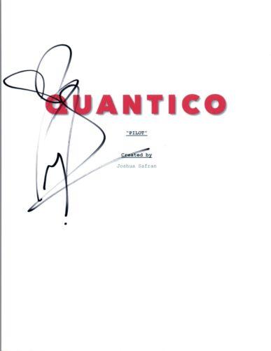 Priyanka Chopra Signed Autographed QUANTICO Pilot Script COA