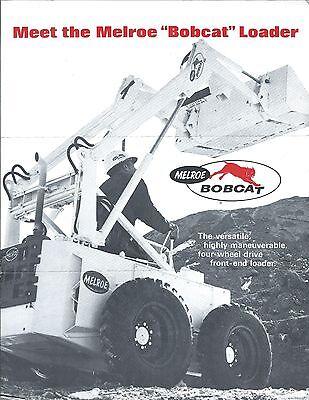 Equipment Brochure - Bobcat Lowe Auger York Rake Tree Transplanter 4 Iteme3695