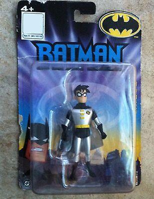 Batman Tas Costume (Batman the Animated Series Robin Silver Costume Mattel NIP 4+ 2005)