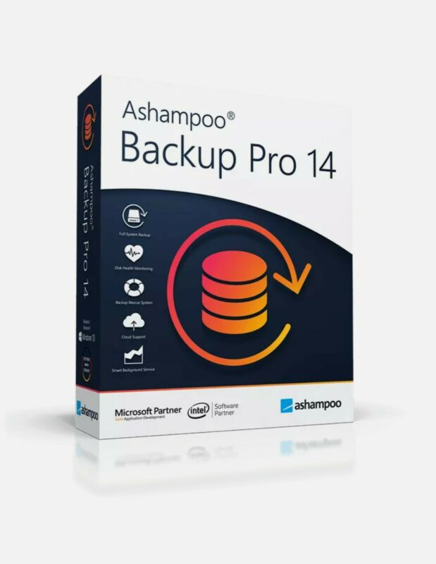 Ashampoo Backup Pro 14 ✔ LifeTime License Key ✔ Fast Delivery