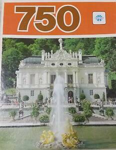 """750 PIECE JIGSAW COMPLETE by COPP CLARK,CAN. """"LINDERHOF CASTLE""""$5 Broadview Port Adelaide Area Preview"""