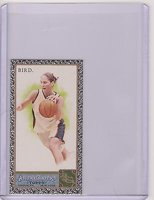 RARE 2011 ALLEN & GINTER SUE BIRD MINI BLACK BASKETBALL CARD #190 ~ WNBA ~ UCONN