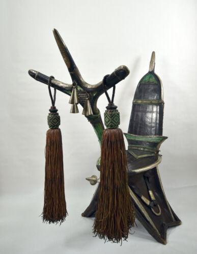 old Tuareg camel saddle, rare, superb, museum quality, North Africa