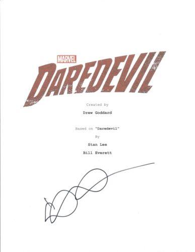 Elden Henson Signed Autographed DAREDEVIL Pilot Episode Script COA