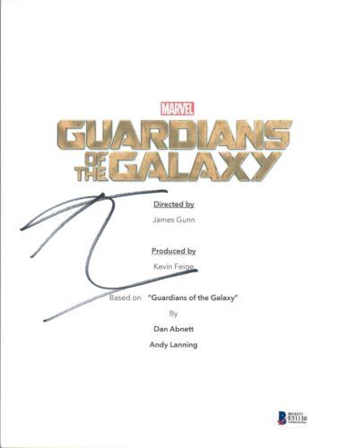 Karen Gillan Signed Autographed GUARDIANS OF THE GALAXY Script Beckett BAS COA