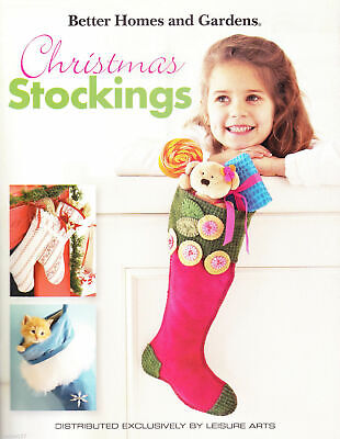 CHRISTMAS STOCKINGS~Sewing Pattern Book~Better Homes and Gardens~48 (Best Christmas Stockings)