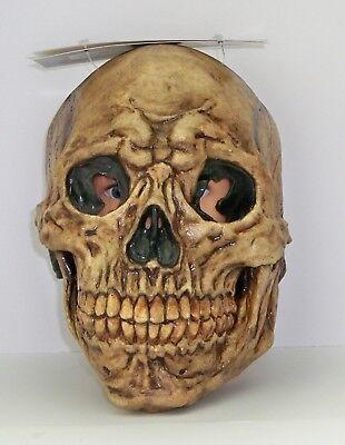 Mumie Erwachsenen Kostüme (Erwachsene Antike Schädel Latex Maske Mumie Kostüm Zubehör TB26683)