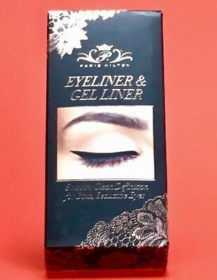 Paris Hilton Eyeliner &Gel Liner Smooth Clean Definition Bold Seductive Eyes NIB