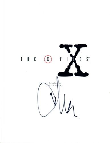 Chris Carter Signed Autographed THE X-FILES Pilot Episode Script COA