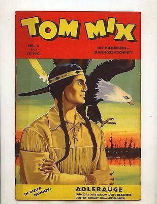 Original Tom Mix 1953 Nummer 4 (1-2) sehr guter Zustand Comicheft