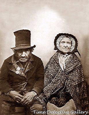 Historical Couple (Creepy Victorian Couple - Historic Photo)