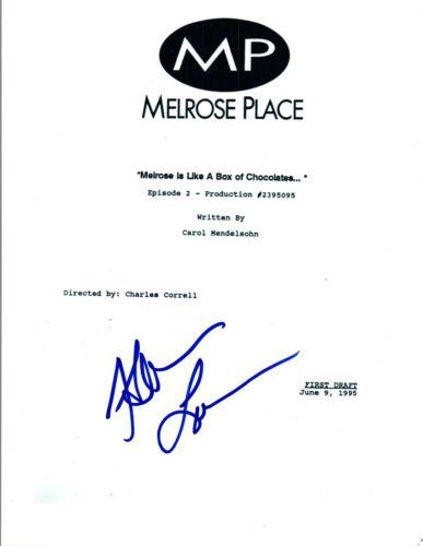 Heather Locklear Signed Autographed MELROSE PLACE Pilot Episode Script COA