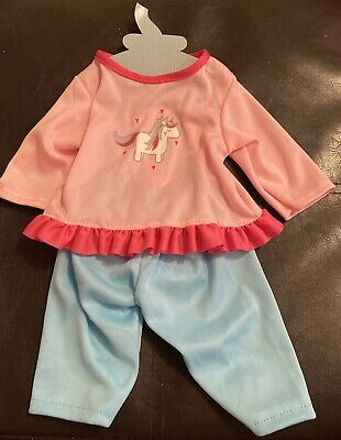 Baby Dolls Clothes Outfit For A 14/16 Inch Baby Doll Reborn Trousers Top