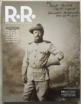 RR AUCTION CATALOG HISTORICAL, POLITICAL ENTERTAINMENT,TELEVISION, INTEREST PLUS