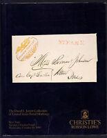 Christie' S The David L. Jarrett Collection Of United States Postal Markings -  - ebay.it