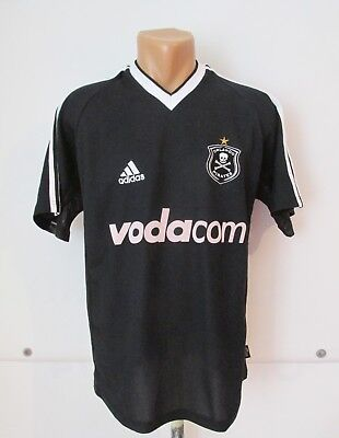 ORLANDO PIRATES 2003/2004 HOME FOOTBALL SHIRT SOCCER JERSEY ADIDAS AFRICA SIZE S image