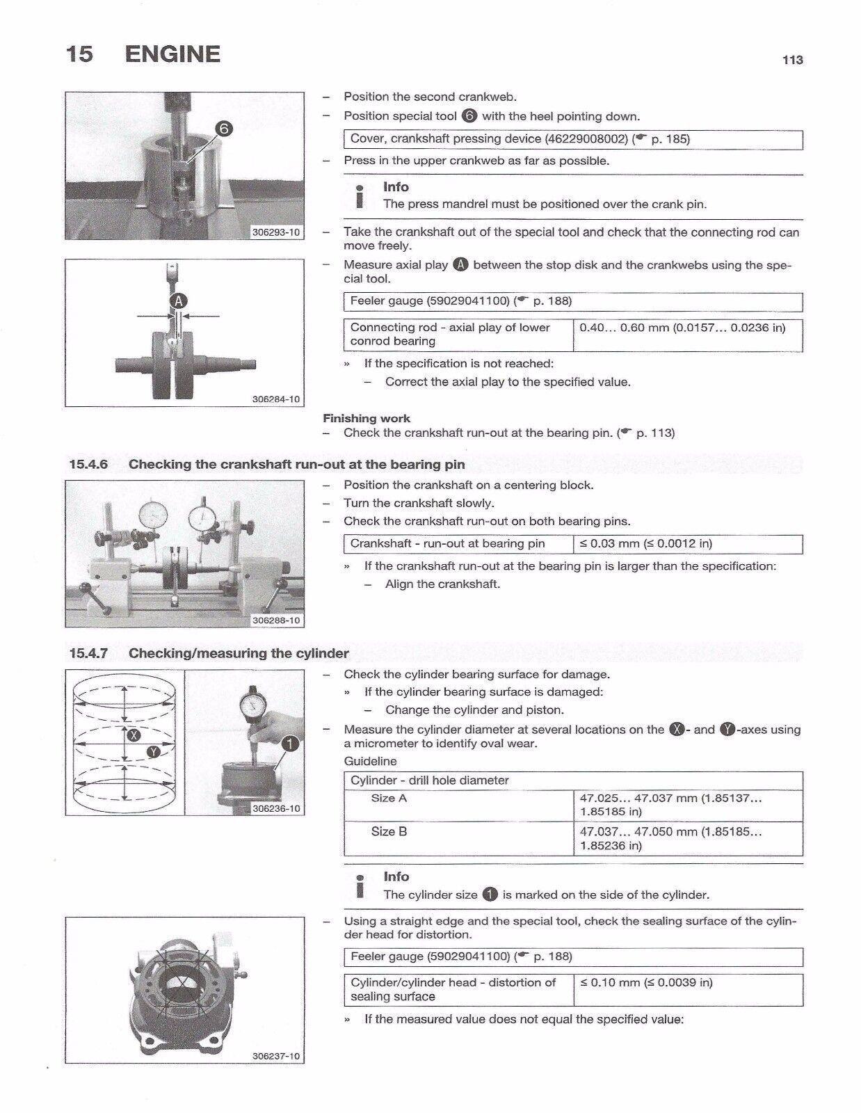 5 of 9 Husqvarna workshop service manual 2016 TC 85