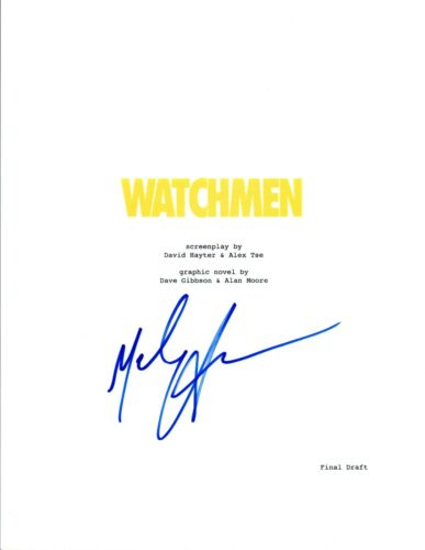 Malin Akerman Signed Autographed WATCHMEN Full Movie Script COA VD