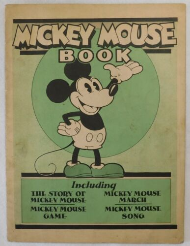 Disney Mickey Mouse 1930 First Edition Issue Book Bibo Lang