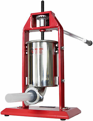 New Vivo Sausage Stuffer Vertical Stainless Steel 3l7lb 5-7 Pound Meat Filler
