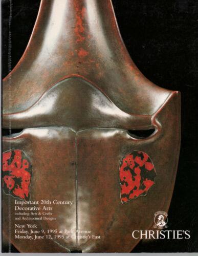 20th Century Decorative  Arts Crafts Design CHRISTIE