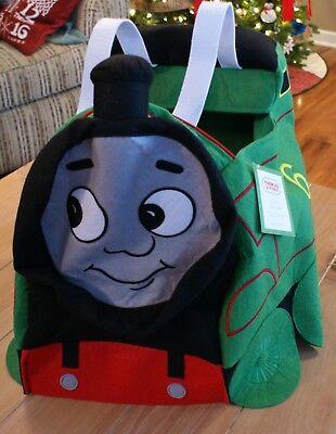 New Pottery Barn Kids THOMAS & FRIENDS PERCY TRAIN Green Costume Kids Size 4-6](Percy Train Costume)