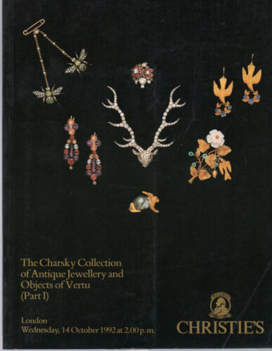 Charsky Collection Antique Jewellery & Objects of Vertu CHRISTIE