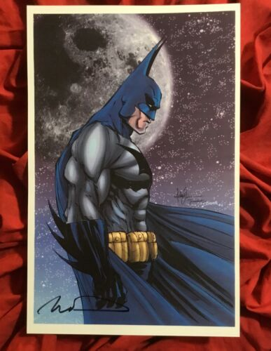 BATMAN THE DARK KNIGHT MICHAEL TURNER ART PRINT~SIGNED BY TIM TOWNSEND~