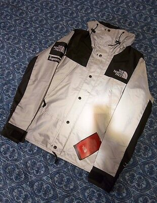 Size SMALL Supreme The North Face 3M Mountain Parka Coat Jacket Black S TNF