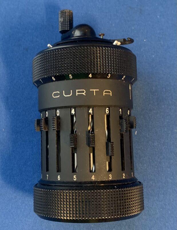 Curta Mechanical Calculator System Curt Herzstark By Contina AG Mauren 1 #19595