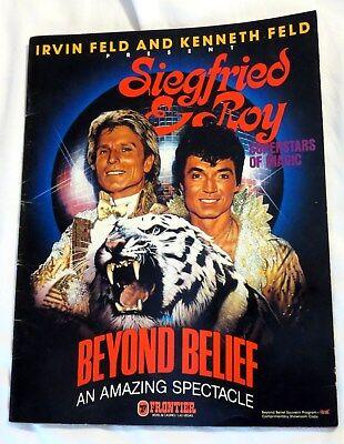 Siegfried & Roy's Superstars of Magic White Lions & Tigers Souvenir Program