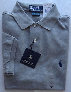 NWT New Polo Ralph Lauren CUSTOM FIT SOFT INTERLOCK Solid  Shirt  S M L XL XXL