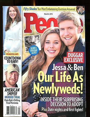 People Magazine March 2 2015 Jessa Ben Duggar Ex No Ml 122216Jhe