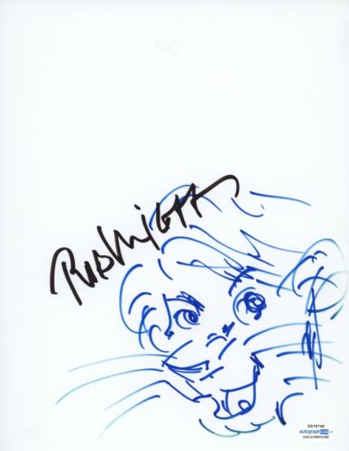Rob Minkoff Hand Drawn Sketch Simba The Lion King Signed Autographed ACOA - $349.99