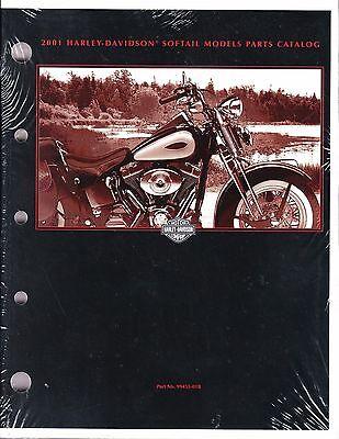 2001 Harley Softail FX/FL Springer Deuce Heritage Fat Boy Parts Catalog Manual