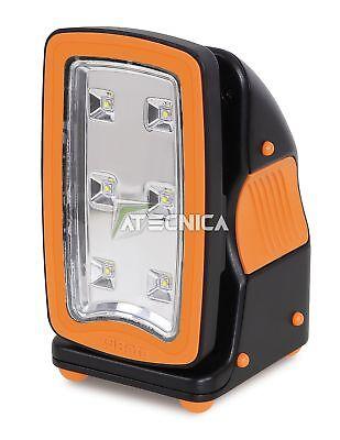 Lampe à led rechargeable Beta 1838FLASH à haute éclairage et base magnétique