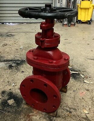 New 6 Flanged Steel Gate Valve 125
