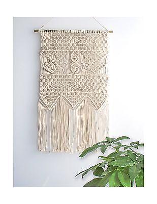 Macrame Wall Hanging Tapestry - BOHO Chic Home Decorative Wall Decor - Bohemi...
