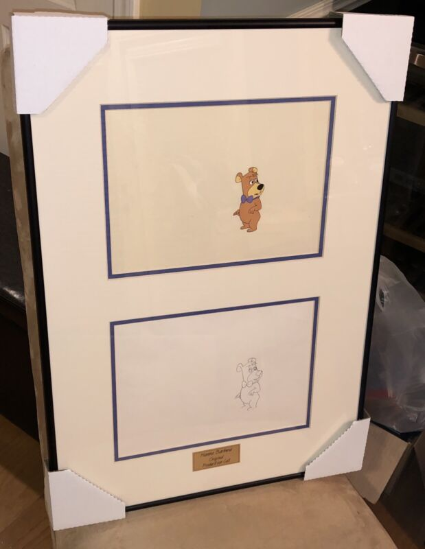 Boo Boo Cel Hanna Barbera Original Production Cell (Legends of Animation) w/ COA