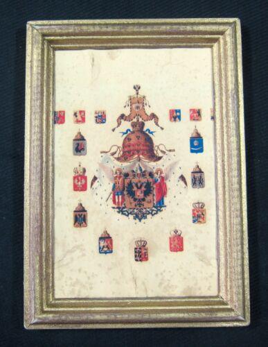 Imperial Crest Of Romanov Dinasty Antique, Tsar Nicholas II, Russia Rare!!!