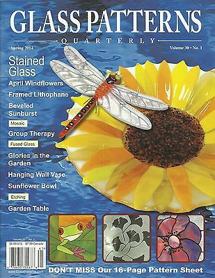 Stained GLASS PATTERNS QUARTERLY Magazine SPRING 2014