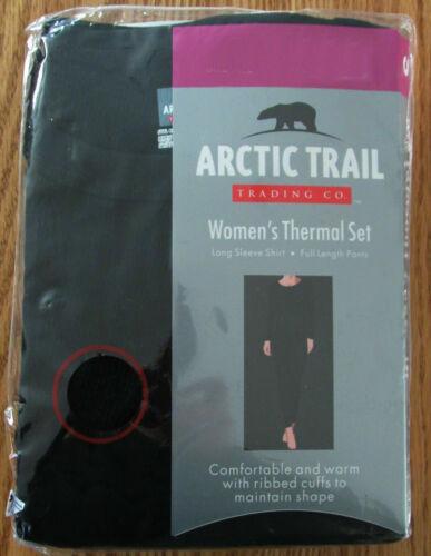 Arctic Trail thermal long johns warm layer set NWT womens