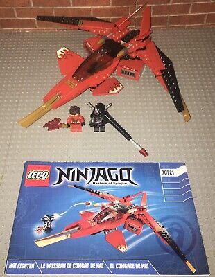 Lego 70721 Ninjago Kai Fighter Complete Set With Minifigures Manual