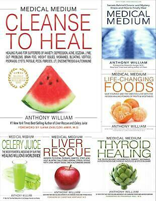 All 6 Anthony William Medical Medium Liver Rescue Thyroid Celery Juice ⚡ ᴇ-books