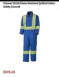 PIONEER FLAME RETARDANT INSULATED COVERALLS