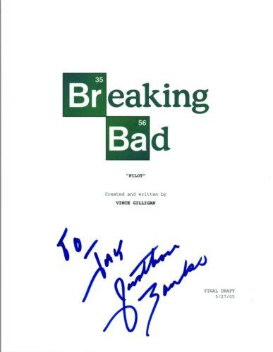 Jonathan Banks Signed Autographed BREAKING BAD Pilot Episode Script COA VD